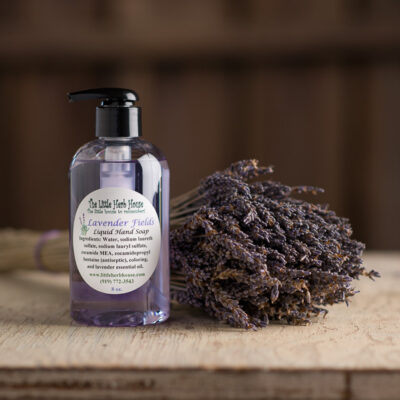 Barn & Gardens of The Little Herb House - Lavender Fields Liquid Hand Soap