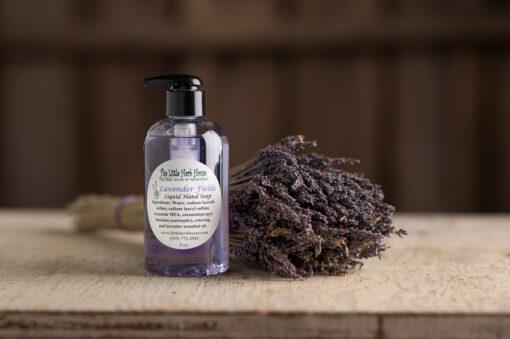Barn & Gardens of The Little Herb House - Lavender Fields Liquid Hand Soap