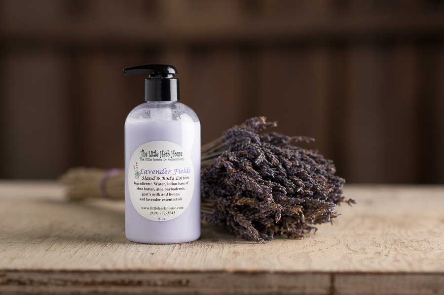 Barn & Gardens of The Little Herb House - Lavender Fields Hand & Body Lotion
