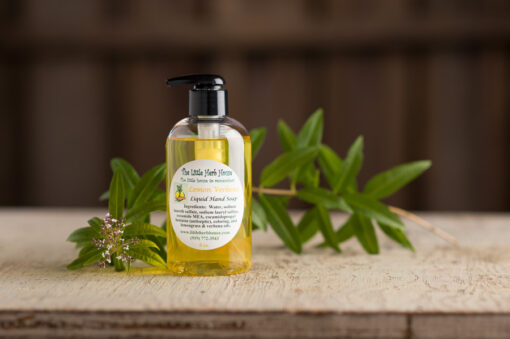 Barn & Gardens of The Little Herb House - Lemon Verbena Liquid Hand Soap