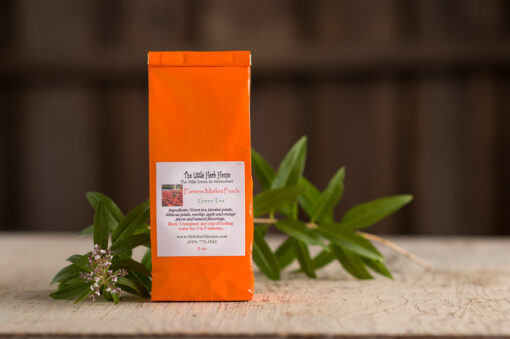 Barn & Gardens of The Little Herb House - Farmers Market Peach Green Tea