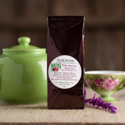 Barn & Gardens of The Little Herb House - Elderberry Black Tea
