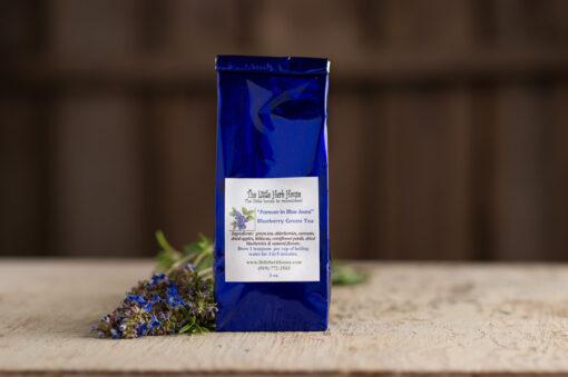 Barn & Gardens of The Little Herb House - Forever in Blue Jeans Blueberry Green Tea