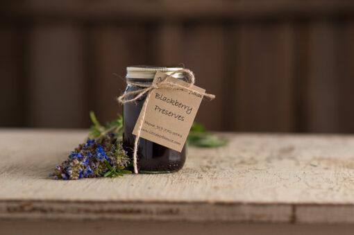 Barn & Gardens of The Little Herb House - Blackberry Preserves