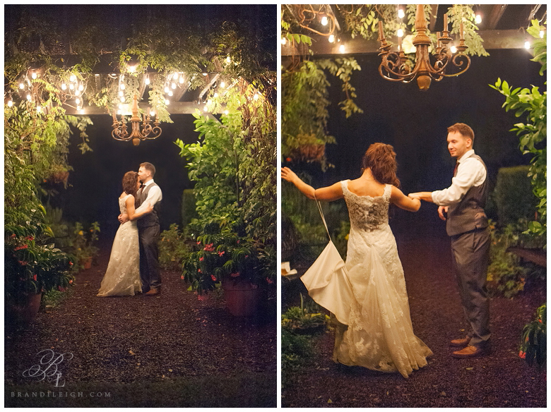 Little Herb house- Brandi Leigh Photography- Destination Wedding Photographer-Dancing outdoors
