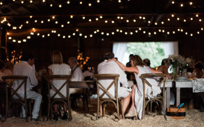 Diner en Blanc | A Rustic Barn Dinner Party