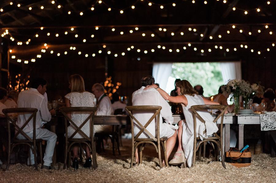 Diner en Blanc | A Rustic Barn Dinner Party