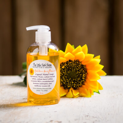 Golden Sunflower Liquid Hand Soap | The Little Herb House