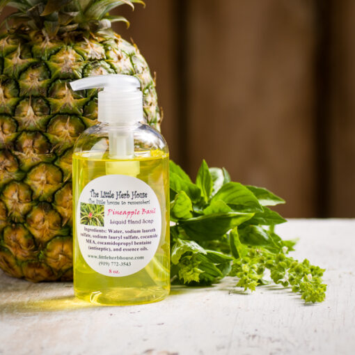 Pineapple Basil Liquid Hand Soap | The Little Herb House