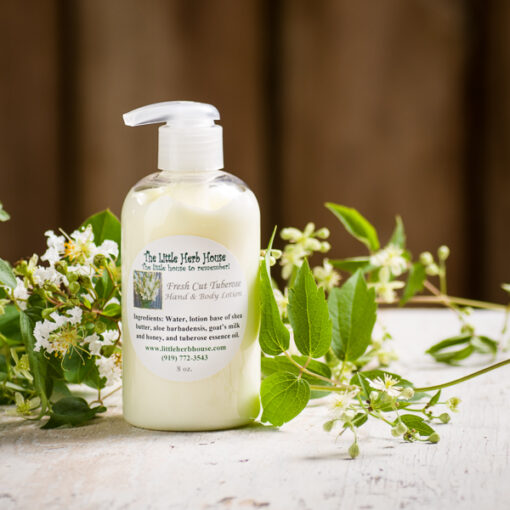 Fresh Cut Tuberose Hand & Body Lotion | The Little Herb House