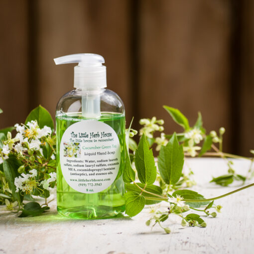 Cucumber Green Tea Liquid Hand Soap | The Little Herb House