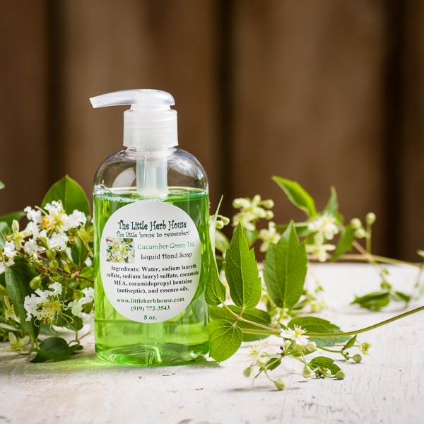 Cucumber Green Tea Liquid Hand Soap | The Little Herb House