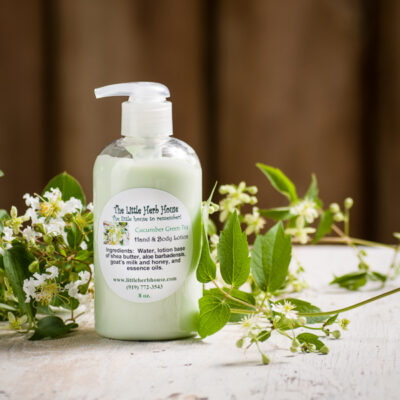 Cucumber Green Tea Hand & Body Lotion | The Little Herb House