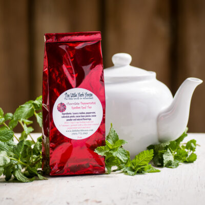 Chocolate Peppermint Rooibos Red Tea | The Little Herb House