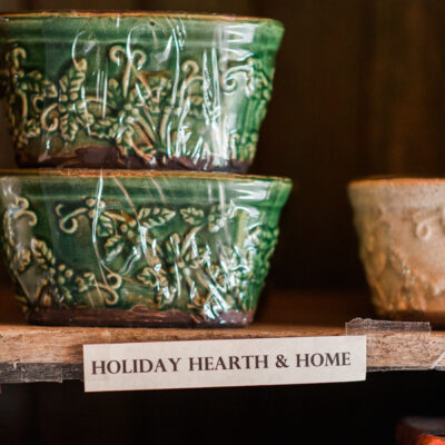 Raleigh Holiday Candles | The Little Herb House