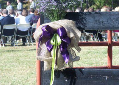 Rustic wedding bouquet | Wedding herbs