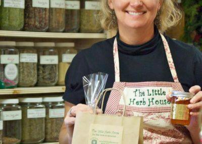 Little Herb House gift shop | Lisa Treadaway