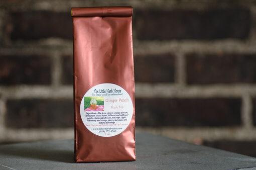 Ginger Peach Black Tea | The Little Herb House | Raleigh, NC