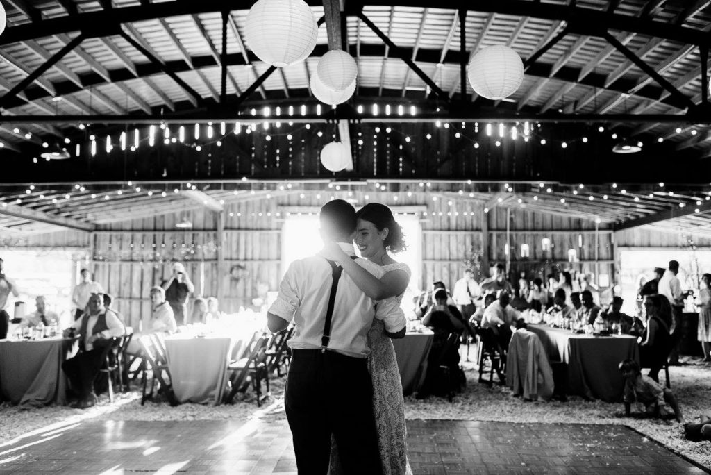 The Little Herb House | reception | first dance