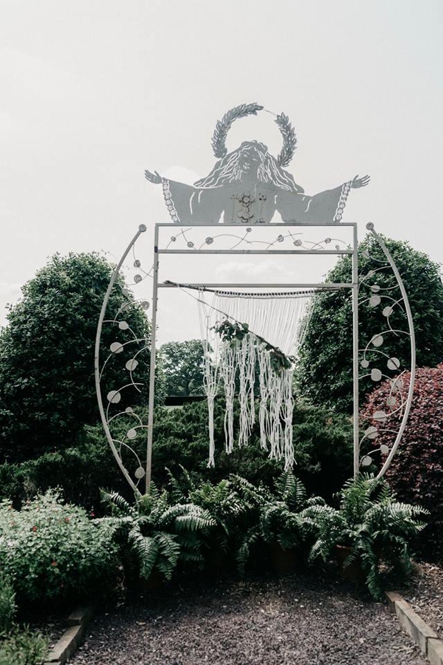 The Little Herb House | herb gardens | wedding angel