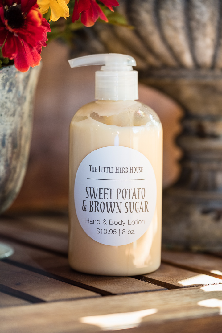 The Little Herb House | Sweet Potato & Brown Sugar Soaps & Lotion